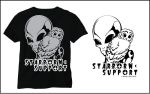 Starborn Support T-shirt Design 1 by Ransolo