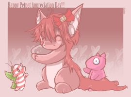 Happy Petpet Appreciation day by charmyc
