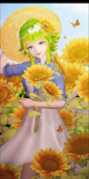 .::Sunflowers::. by Emy-san