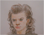 Traditional drawing color harry styles by MiniSweetx