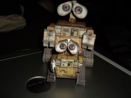 2nd Wall-e Papercraft by ykansaki