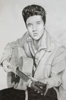elvis by ian-somers
