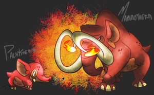 Mammoth Fakemon by T-Reqs