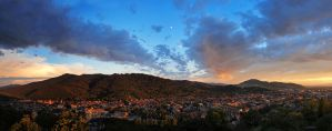 Evening in Freiburg by orestART