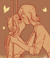 Don't let me fall by MaryLittleRose