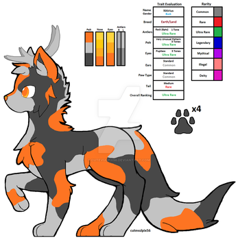 Kannix Pup - First Custom! :D by cutevulpix56
