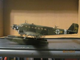 Junkers Ju52-3M: Side View by cloudyrainbow561