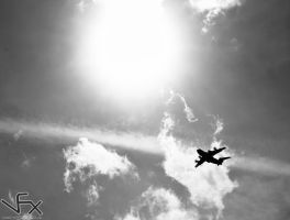 Midday Fly by by Aazmatazz