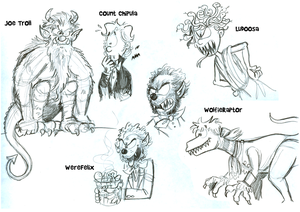 Monster Compz Sketches