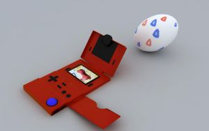 Togepi, The spiked egg pokemon by FeuerDrache