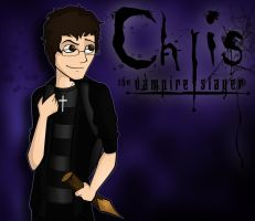 Chris, The Vampire Slayer by Darlasaki2