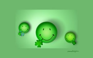 St Pattys Smileys by alteredteddybear
