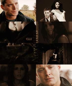 Ashley Greene // Jensen Ackles - Demon by N0xentra