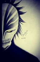 Ichigo Hollow Mask ( Over ) by Demitsuri54
