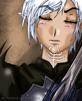 Fenris - Peaceful Respite by Prince-in-Disguise
