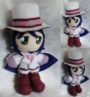 Commission, Mini Plushie, Mephisto Pheles by LadyoftheSeireitei