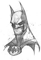 ART 4 PHUN: Batman Cowl Scowl by RobDuenas