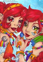 Trade 06 Rainbow Girls by KeyshaKitty