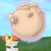 Braixen's encounter Page 3 Finale by Blimpfurry