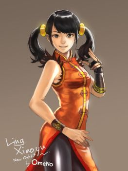 Ling Xiaoyu New Outfit by DigitalOme