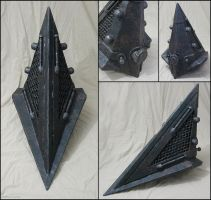 Pyramid Head helmet detail by CruftForce7