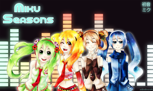 Miku Seasons by miSsSasoRi
