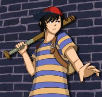 Earthbound: Ness by undermate2005