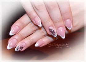 Nail art 262(Gel nails) by ChocolateBlood