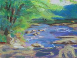 Woodsy Creek Finished by kidspatula