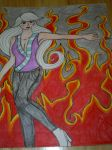 100 Theme Challenge #8- Fire by Lady-Yuukie