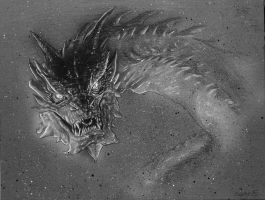 O SMAUG THE TREMENDOUS by DannyNicholas