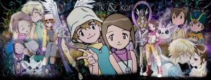 TK and Kari - Portada by MaggieHS