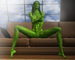 She hulk - Exclusive 69 by MorganCygnus