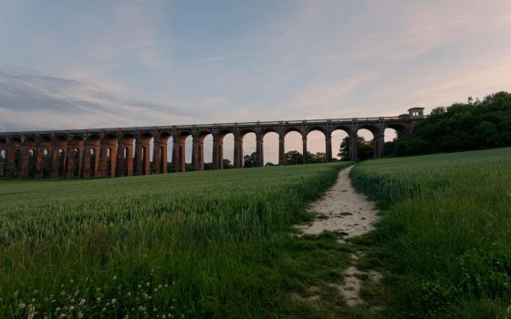 Ouse Valley Viaduct by snomanda