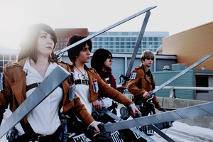 Attack on Titan: Miss Mallo Photography by Sparx-the-Fox