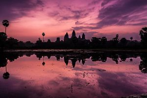 Angkor Wat Sunrise by cwaddell