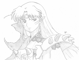 sesshomaru by XRans