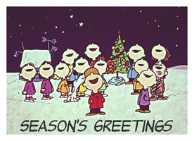 Peanuts Greetings by Richard67915