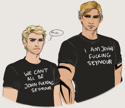 Courtesy of the Wives (EDIT You can buy a shirt!) by Aerorwen