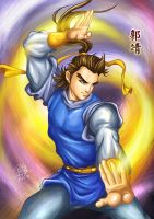 The Condor Heroes - Guo Jing by godfathersky