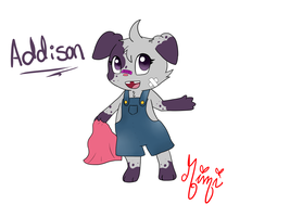 Addi the Espurr  by MimiTheFox