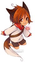 :CM: Soft Shading Chibi -  Kaenshi by fleesveon