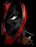 Deadpool - Print by chameleon29