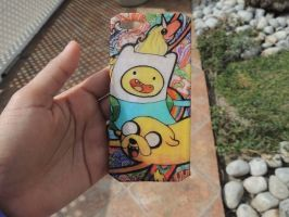 Adventure time Finn and Jake iphone 5 case by Saloscraftshop
