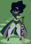 The Empress with Blade by Da-Fuze