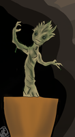 Groot by ashwolfholmes