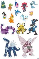 15 D-P Pokemon