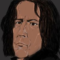 Impression of Severus Snape by debellespoupees