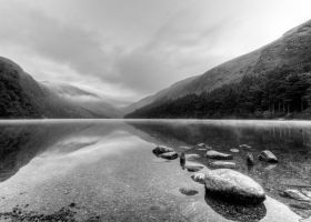 Glendalough - Upper Lake by AdrianSadlier