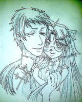 Lau and his little meimei by AmberPalette